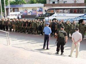 Фото: Полтава зустріла правоохоронців, які повернулися з АТО