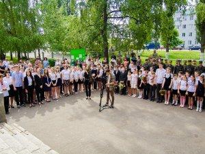 У Полтаві встановили пам'ятну дошку Валерію Боняківському, який загинув в АТО