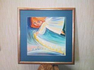 Фото: Полтавці продають на аукціоні картину із підписами «Піккардійської Терції»