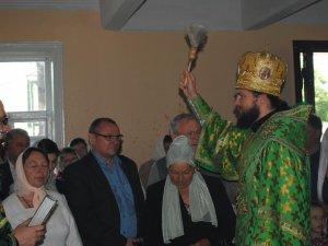 Фото: На Полтавщині на свято Трійці відкрили українську церкву