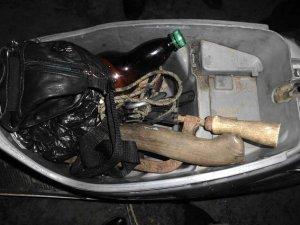 Фото: 36-річний мешканець Полтави викрав 140 метрів кабелю