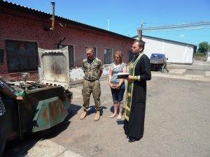 Фото: Полтавці відправили до зони АТО броньований «Пиріжок»