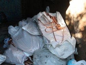 Фото: У Кременчуці вилучили кольорового металу на півтора мільйона гривень