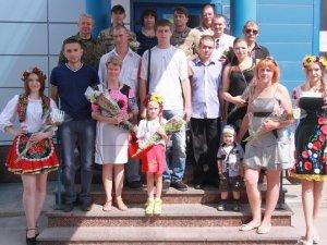 Фото: Ще 9 полтавців отримали посвідчення учасника бойових дій