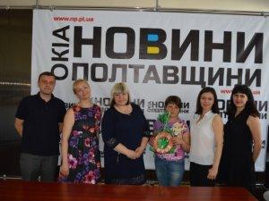 """Фото: """"Коло"""" в гостях у """"Новин Полтавщини"""""""