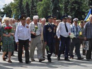 Фото: Полтавці вшанували загиблих у Другій світовій