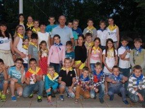 Фото: Мамай подарував полтавським дітлахам екскурсію до зоопарку