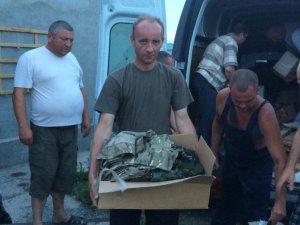Фото: Полтавські волонтери під час поїздки у зону АТО подолали більше тисячі кілометрів