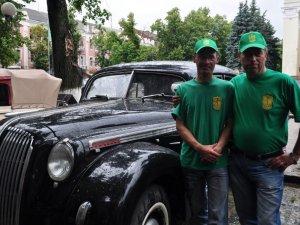 Фото: У Полтаві показали автомобіль, на якому їздили солдати вермахту (ФОТО)