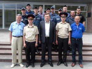 Фото: Полтавські рятувальники присягли на вірність Українському народові
