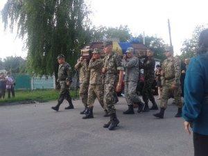 На Семенівщині поховали героя, загиблого під Дебальцевим
