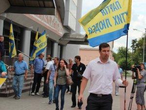 Фото: Олександр Шамота: ми не дозволимо міліції зам'яти справу з наїздом мера на простих полтавців