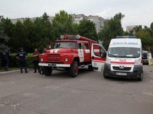 Фото: У будівлі Комсомольської міськради виявили гранату