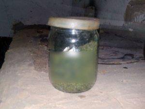 Фото: Сезон консервації по-полтавськи: у чоловіка вилучили суху коноплю, заховану у банці