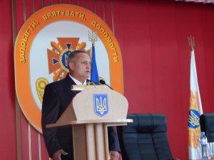Фото: Новий керівник полтавських рятувальників першочергово планує вирішити проблеми з обмундируванням