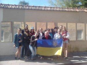 Фото: Діти учасників АТО з Полтавщини навчаються у таборі Збройних сил Литви