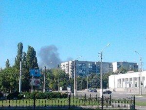 Фото: Біля нафтопереробного заводу в Кременчуці пожежа
