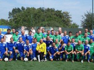 Фото: У Кременчуці ветерани грали у футбол в пам'ять Олега Бабаєва