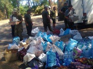 Фото: Полтавські волонтери відвезли допомогу на передову в околиці Луганська