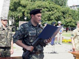 Фото: Студенти-педагоги склали Військову присягу в Полтаві