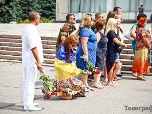 Фото: Боєць «Ніжний» назавжди повернувся в рідний Кременчук (ФОТО)