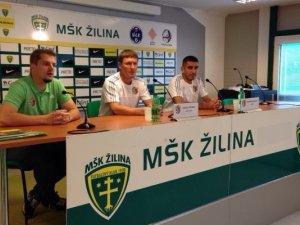 Фото: Тренер і капітан «Ворскли» дали прес-конференцію перед грою з «Жиліною»