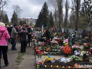 Алеї Героїв у Полтаві хочуть надати статусу військового поховання