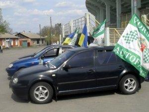Автофани «Ворскли» влаштують пробіг перед матчем з «Жиліною»