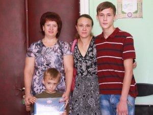 Фото: Родині загиблого в АТО полтавця Олександра Фролова передали допомогу