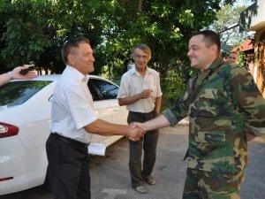 Фото: 93-й бригаді передали автомобіль від кунцівської громади з Полтавщини