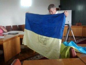 Фото: У Полтаві урочисто піднімуть прапор із зони АТО