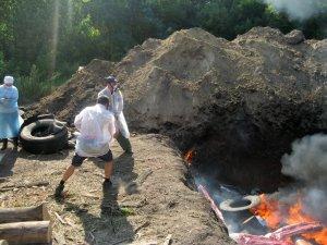 Фото: Сергій Аранчій розповів, чому не варто було переносити місце спалювання хворих свиней