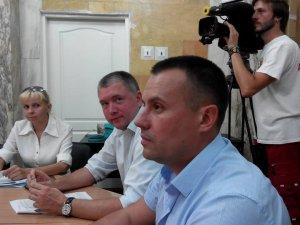 Фото: «Батьківщинівці» Полтави обрали Валерія Тесленка  головою міського партосередку
