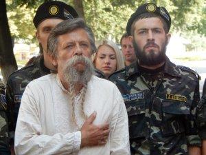 Фото: У Полтаві відкрили меморіальну дошку загиблому в АТО воїну (фото)