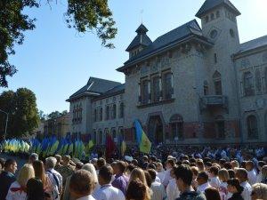 Фото: Полтавці відзначають День Незалежності України (ФОТО)