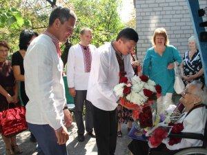 Фото: Жінка з Полтавщини в День Незалежності відсвяткувала 105 ювілей