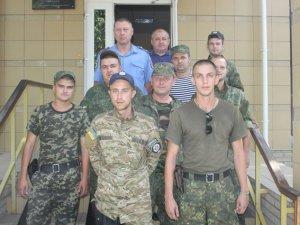 Фото: Кременчуцькі правоохоронці повернулися з зони АТО