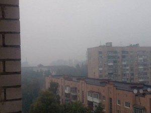 Фото: Рятувальники рекомендують полтавцям не панікувати через  запах диму в місті