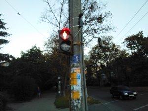 Фото: У Полтаві світлофор на Зіньківській-Кондратенка зробили звуковим