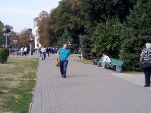 Фото: «У колону по чотири», або Як Андрій Матковський на вибори йшов