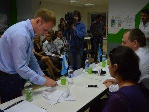 Фото: «Сила людей» висунула Лева Жиденка кандидатом у  мери Полтави