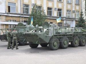 Фото: Батальйон «Полтава» отримав оновлену військову техніку