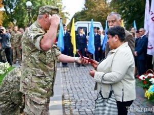 Фото: Кременчуцького героя нагородили орденом посмертно