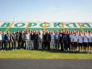 Фото: Футболістам «Ворскли» розповідали, що «договірняки» та расизм це погано