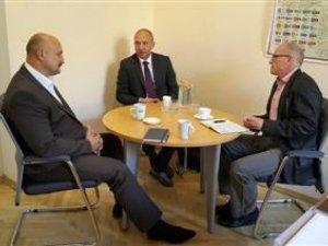 Фото: Петро Ворона зустрівся з керівниками Представництва Програми розвитку ООН в Україні