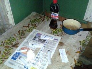 Фото: Житель Лубен вдома виготовляв та вживав наркотики
