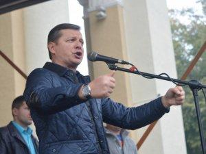 Фото: Україна повинна споживати власний газ – сказав Ляшко у Полтаві
