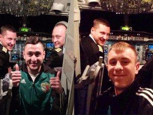 Фото: Футболісти «Ворскли» зробили селфі у польоті