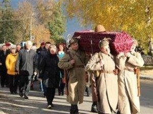 Фото: В Опішні перепоховали загиблих у ІІ Світовій війні