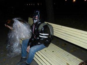 Фото: Хелловін у Полтаві: зомбі проїхались громадським транспортом (ФОТО)